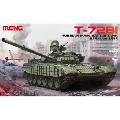 MENG MODEL TS033 Russian Main Battle Tank T-72B1