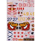 Authentic Decals Sukhoi Sukhoi Su-17M3/M4 Fitter H/K