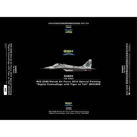 Great Wall Hobby S4809 Mikoyan MiG-29AS Slovak Air Force 2014 Special Painting