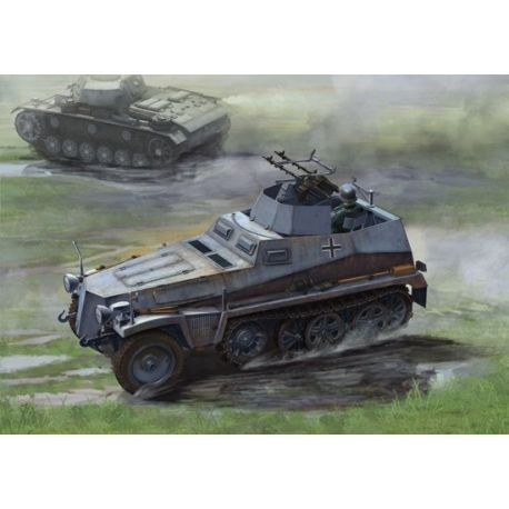 Dragon 6878 Sd.Kfz 250/4 mit Zwilling MG 34