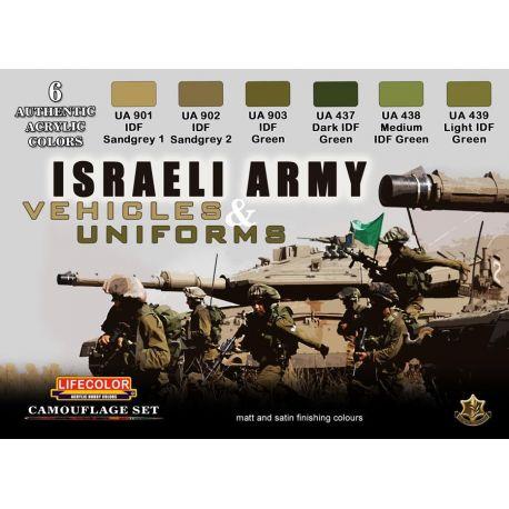 Life Color Israeli Army- vehicles & uniforms
