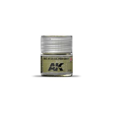 AK REAL COLORS BSC Nº28 SILVER GREY