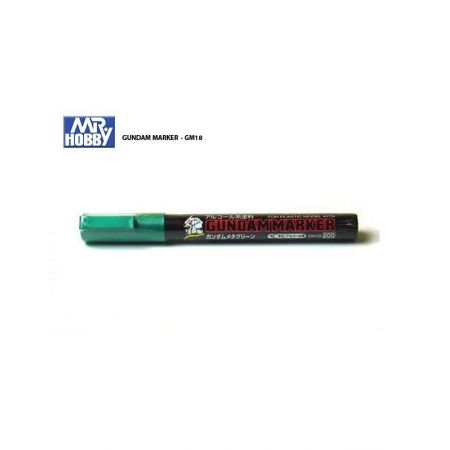 MR HOBBY GUNDAM MARKER METALLIC GREEN GM18
