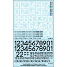 TAURO MODEL 32506 NUMERI DI CODICE E DI REPARTO A.M.I. PER F104, F86