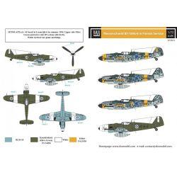 SBS MODEL D72013 Messerschmitt Bf-109G-6 in Finnish Service