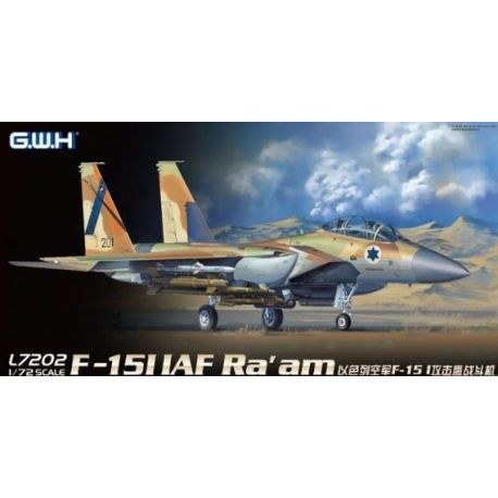 Great Wall Hobby L7202 F-15I IAF Ra'am in 1:72