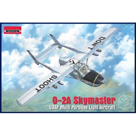 RODEN 620 Cessna O-2A Skymaster in 1:32