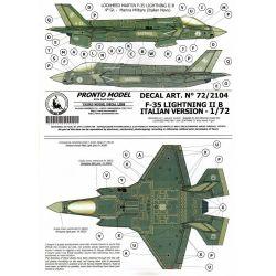 TAURO MODEL 722104 F-35 LIGHTNING IIB ITALIAN VERSION 1/72