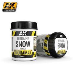 AK INTERACTIVE 8011 TERRAINS SNOW 250ML