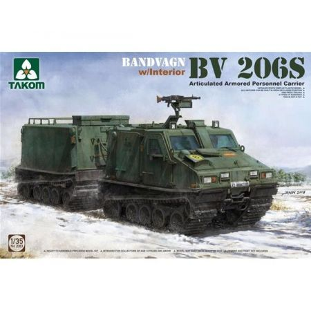 TAKOM 2083 Bandvagn Bv 206S Articulated Armored Personnel Carrier