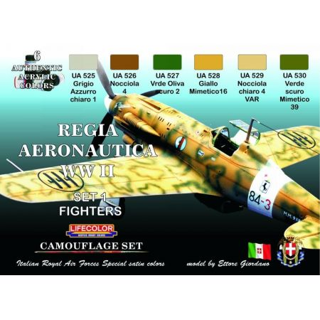 Regia Aeronautica WWII colours set # 1