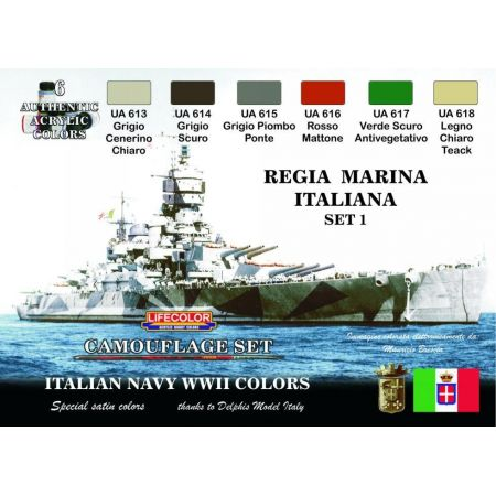 Life Color Regia Marina Italiana set # 1