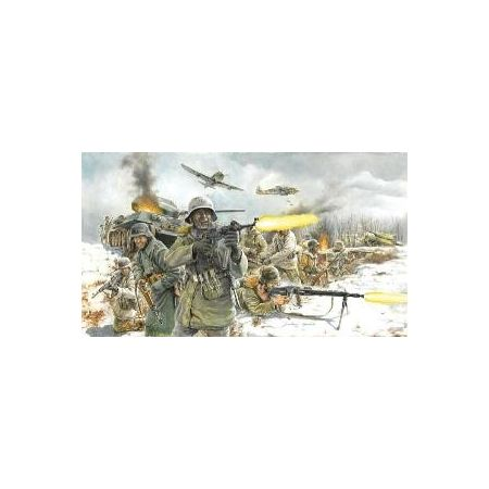 ITALERI 6151 GERMAN INFANTRY (WINTER UNIFORM) WWII