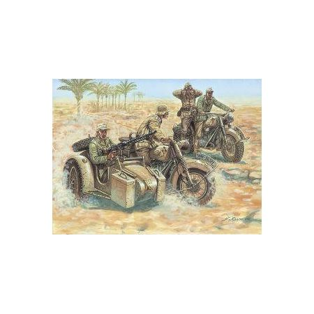 ITALERI 6121 GERMAN MOTORCYCLES WWII