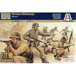 ITALERI 6076 GERMAN AFRIKA KORPS WWII