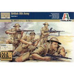 ITALERI 6077 BRITISH 8TH ARMY WWll