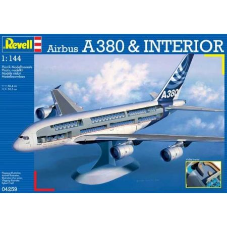 "Revell 04259 Airbus A380 ""Visible Interior"""