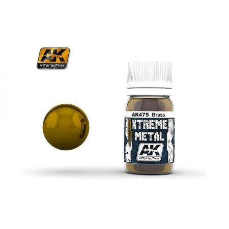 AK INTERACTIVE: XTREME METAL Brass - 30 ml