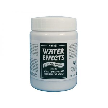 Vallejo EFFETTI ACQUA Transparent water (colorless) 200 ml.