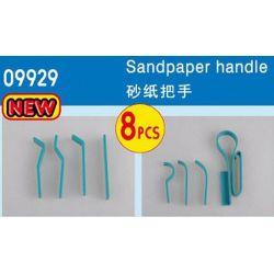 TRUMPETER 09929 Manici in gomma per carta abrasiva