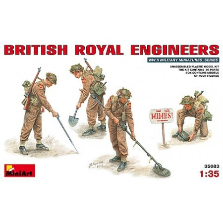 MINIART 35083 BRITISH ROYAL ENGINEERS 1/35