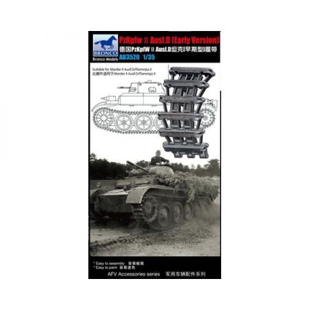 BRONCO MODELS 3520 Germany Panzer II Ausf.D (Early) Track Link Set 1/35