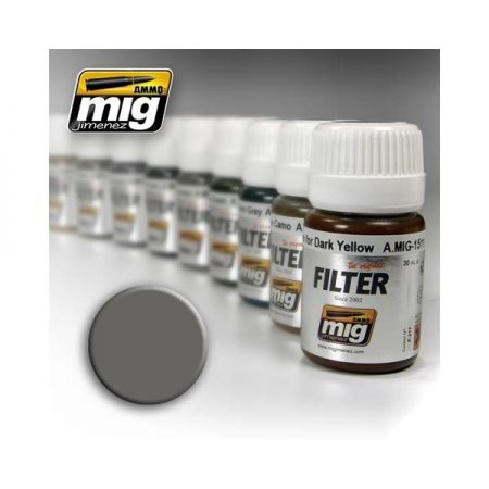 AMMO OF MIG: Filtro GREY FOR WHITE 35ml