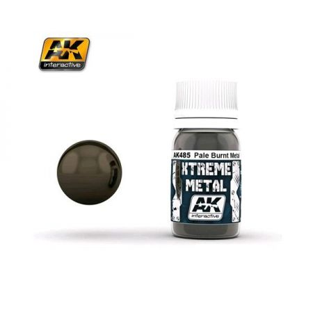 AK INTERACTIVE: XTREME METAL Pale Burn Metal - 30 ml