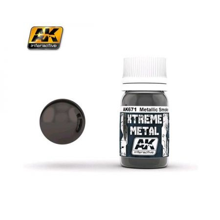 AK INTERACTIVE: XTREME METAL Metallic Smoke - 30 ml