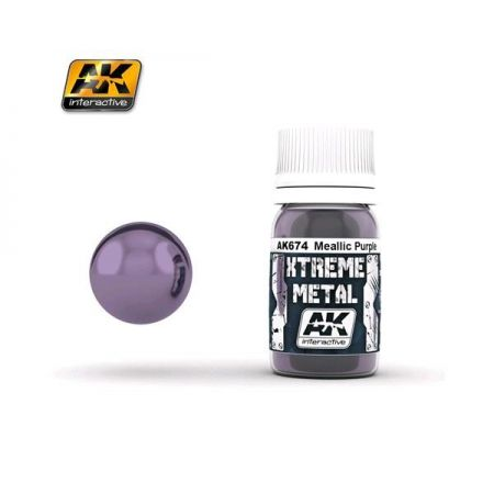 AK INTERACTIVE: XTREME METAL Metallic Purple - 30 ml