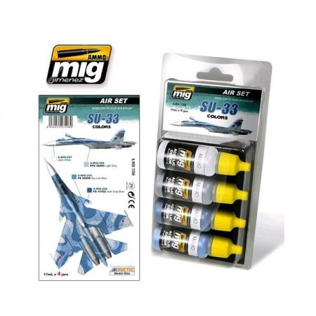 AMMO OF MIG: set colori SU-33