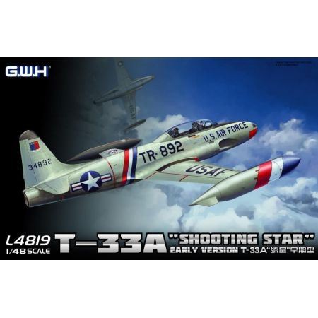 Great Wall Hobby GW4819 T-33A Early Version 1/48