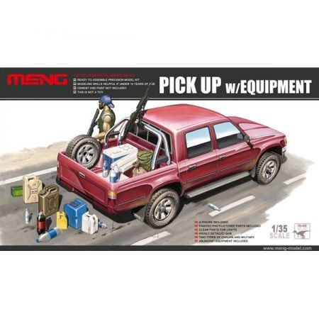 MENG MODEL: PICK UP con carico
