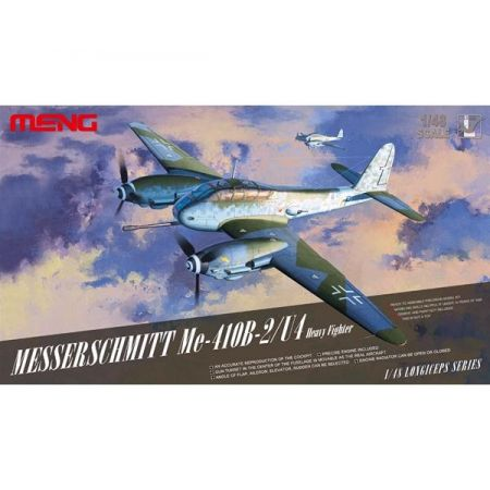MENG MODEL: Messerschmitt Me-410B-2/U4 Heavy Fighter