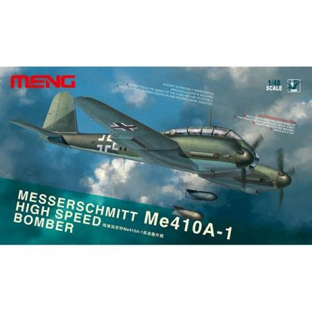 MENG MODEL: Messerschmitt Me410A-1 High Speed Bomber