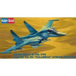HOBBY BOSS 81756 Russian Su-34 Fullback Fighter-Bomber