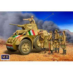 MASTER BOX 35144 ITALIAN MILITARY MEN WWII