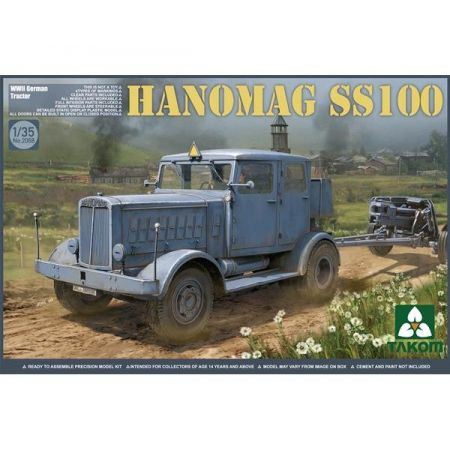TAKOM MODEL 2068 WWII German Tractor Hanomag SS100