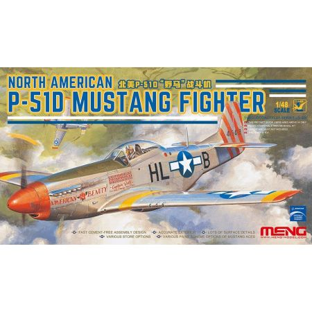 MENG MODEL North American P-51D Mustang Fighter