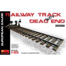 MINIART 35568 RAILWAY TRACK w/ DEAD END. EUROPEAN GAUGE