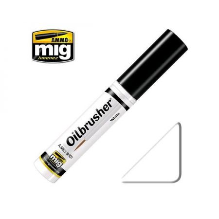 AMMO OF MIG: OILBRUSHER colore BIANCO