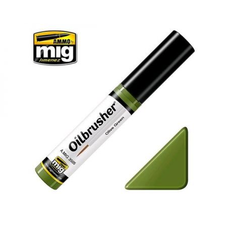 AMMO OF MIG: OILBRUSHER colore VERDE OLIVA