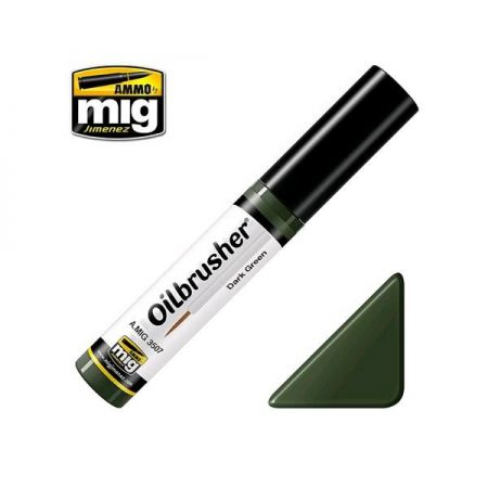 AMMO OF MIG: OILBRUSHER colore DARK GREEN