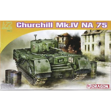 DRAGON 7507 Churchill Mk.IV NA 75