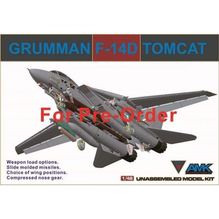 AVANTGARDE 88007 GRUMMAN F-14D TOMCAT 1/48