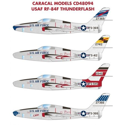 CARACAL 48094 USAF Republic RF-84F Thunderflash