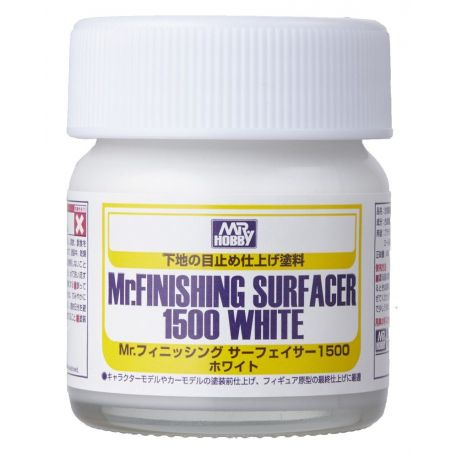Mr.FINISHING SURFACER 1500 white