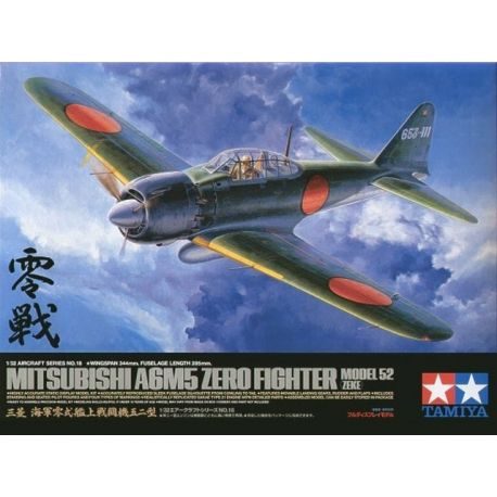 Tamiya 60318 Mitsubishi A6M5 Zero Fighter Model52 (Zeke)