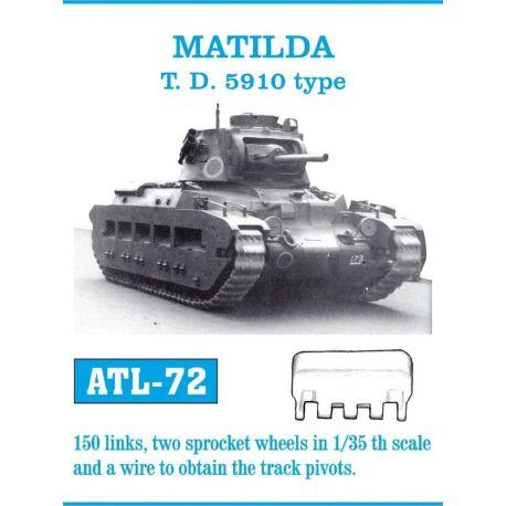 FRIULMODEL ATL-72 MATILDA T. D. 5910 type