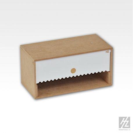 HobbyZone Organizer modulare porta rotolo di carta. Dimensioni cm 30x15x15
